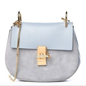CHLOE Drew crossbody bag handbag fresh blue